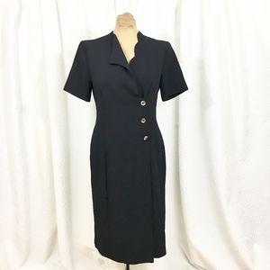 Arielle London dress scallop neckline